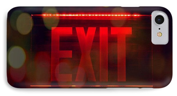 Exit Into The Night IPhone Case