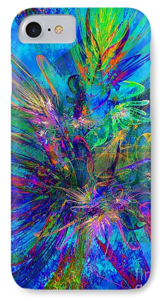 Exotic Dream Flower IPhone Case