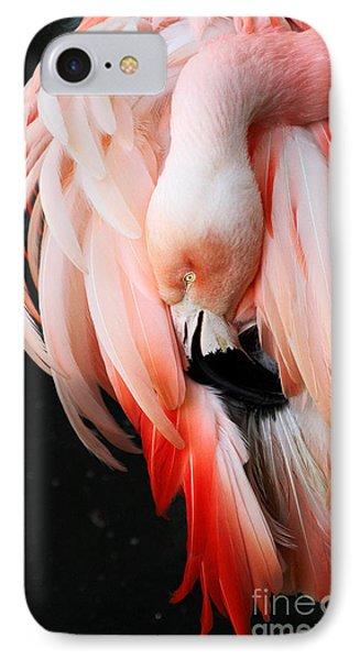 Exquisite Pink Flamingo #1 IPhone Case