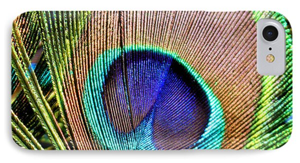 Eye Of The Feather IPhone Case