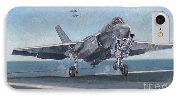 F-35c Carrier Landing IPhone Case