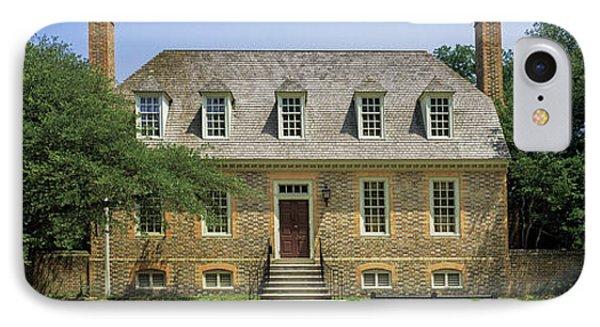 Facade Of A House, Colonial IPhone Case