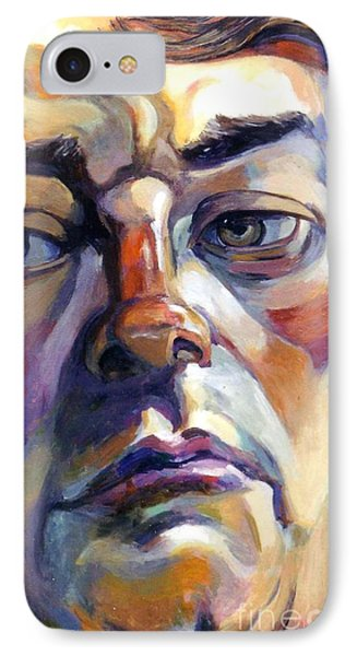 Face Of A Man IPhone Case