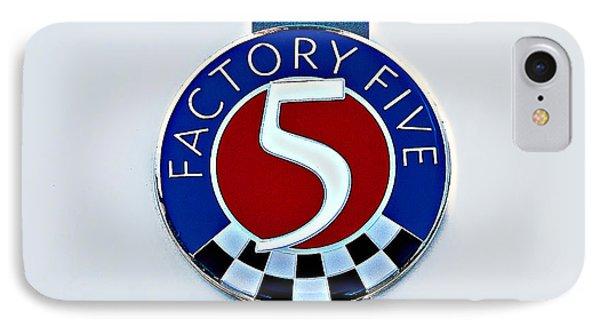 Factory Five IPhone Case