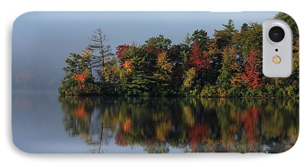 Fall At Heart Pond IPhone Case