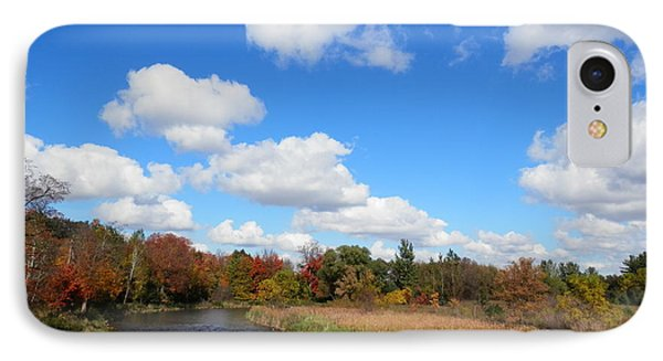 Fall At The Credit River IPhone Case