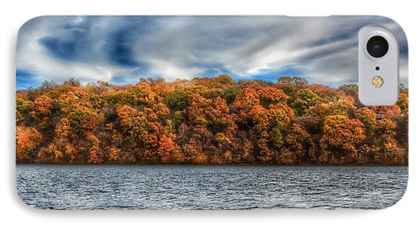 Fall At The Lake IPhone Case