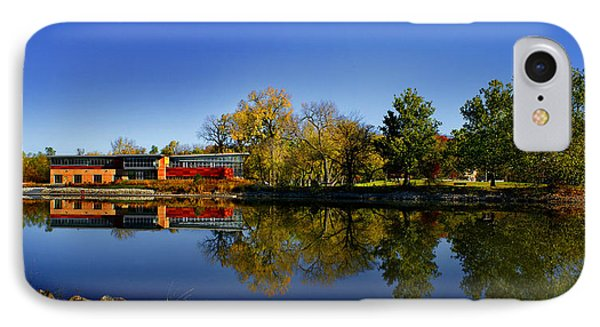 Fall Iowa River View IPhone Case