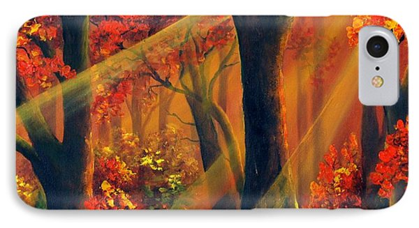 Fall Rays IPhone Case