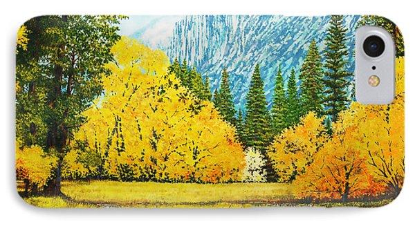 Fall Splendor In Yosemite IPhone Case