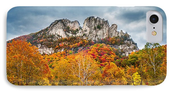 Fall Storm Seneca Rocks IPhone Case