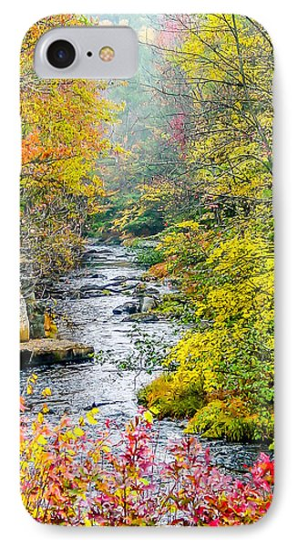 Fall Stream In New Hampshire IPhone Case