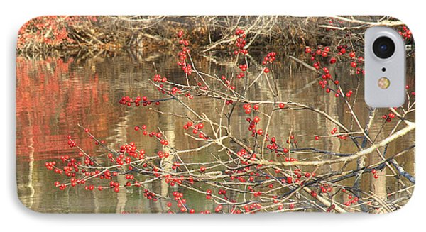 Fall Upon The Water IPhone Case