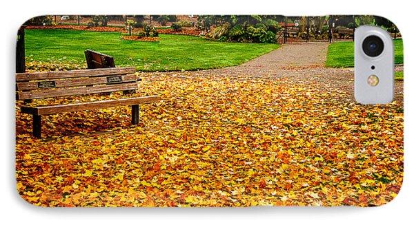 Fallen Leaves IPhone Case