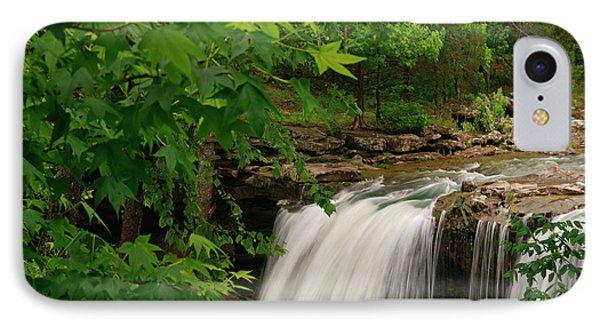 Falling Waterfall, Richland Creek IPhone Case