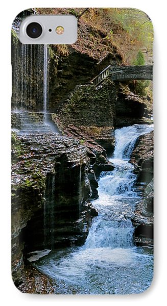 Falls At The Glen IPhone Case