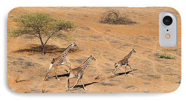 Africa iPhone 8 Case - Family Paradise by John Fan