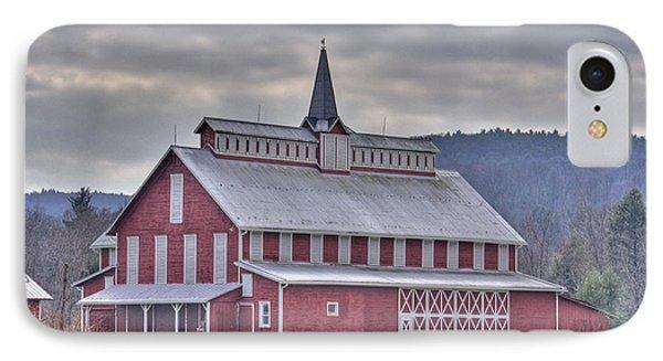 Fancy Red Barn IPhone Case