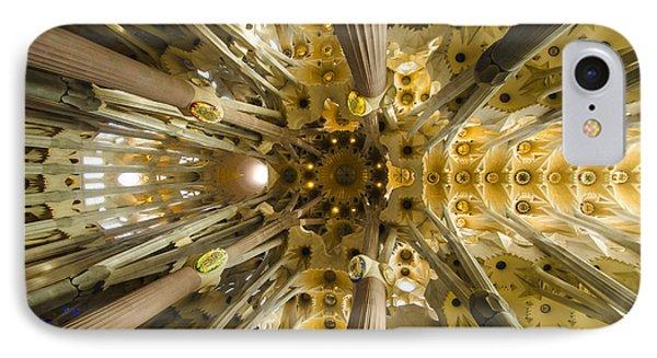 Fantabulous Sagrada Ceiling IPhone Case