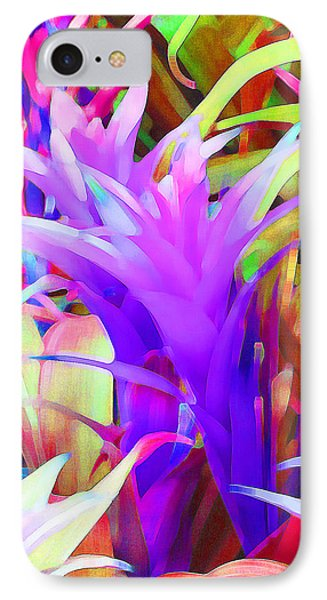 Fantasy Bromeliad Abstract IPhone Case