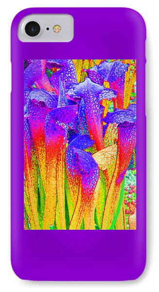 Fantasy Flowers IPhone Case