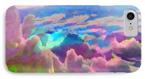 Abstract Fantasy Sky IPhone Case