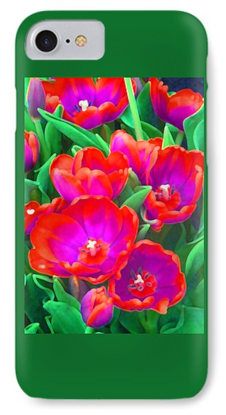 Fantasy Tulip Abstract IPhone Case
