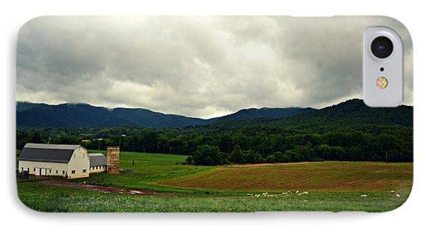 Farm In Swannanoa Nc IPhone Case
