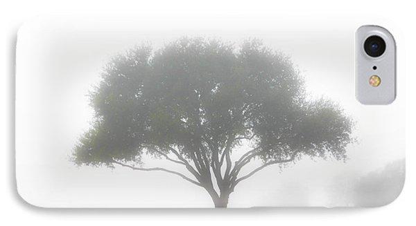 Farm On A Foggy Morning IPhone Case