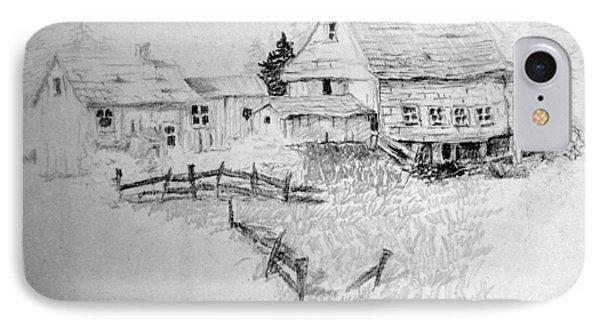 Farmhouse And Barn IPhone Case