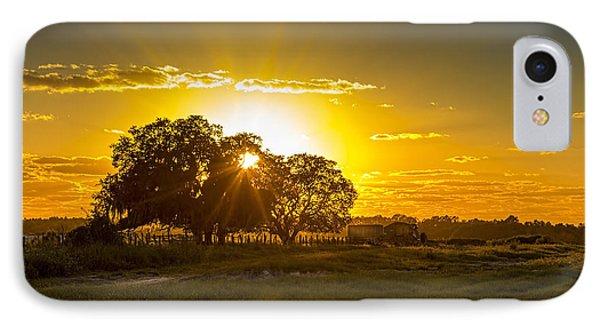 Farmland Sunset IPhone Case