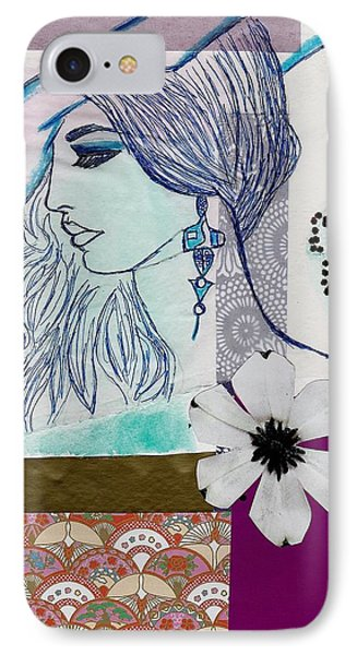 Fashion Girl Collage IPhone Case
