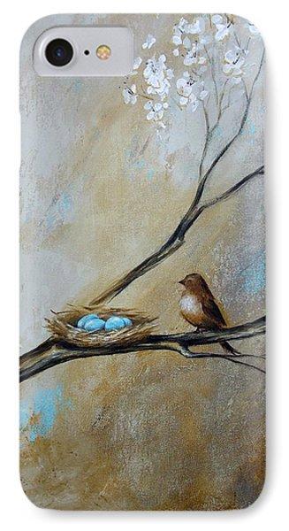Fat Little Bird's Nest IPhone Case