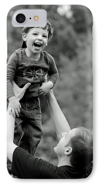 Father And Son IIi IPhone Case