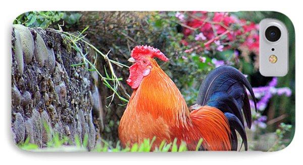 feathered alarm II IPhone Case