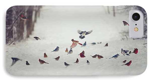 Feathered Friends IPhone Case