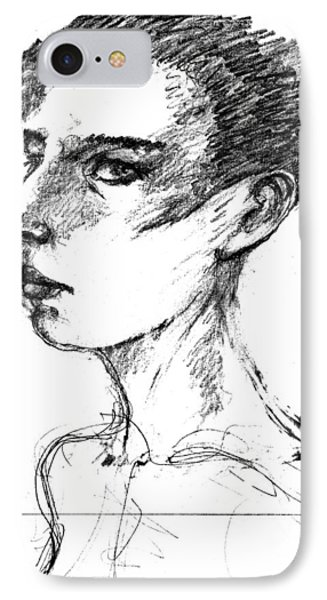 Female Head IPhone Case