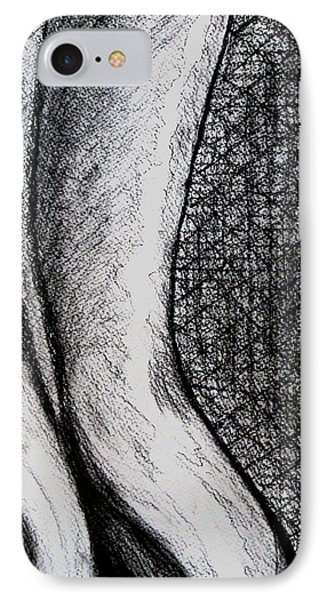Female Nude The Backside IPhone Case