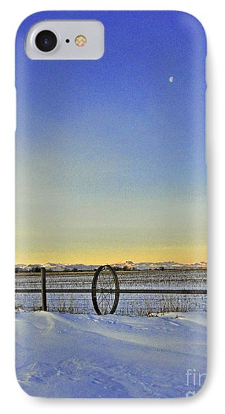 Fence And Moon IPhone Case