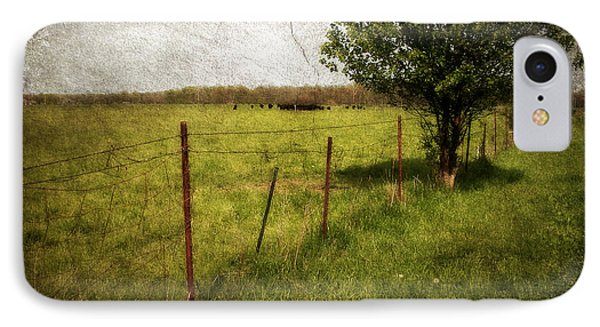 Fence With Tree IPhone Case