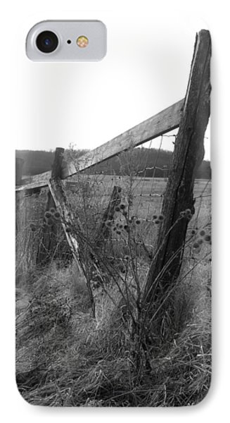 Fences Black And White I IPhone Case