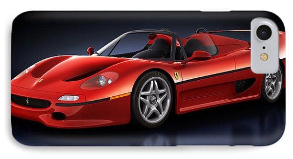 Ferrari F50 - Phantasm IPhone Case