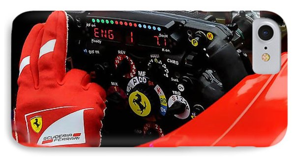 Ferrari Formula 1 Cockpit IPhone Case