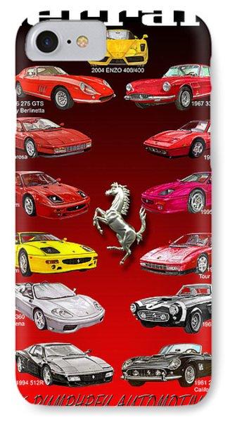 Ferrari Poster  IPhone Case