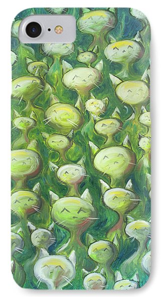 iPhone 8 Case - Field Of Cats by Nik Helbig