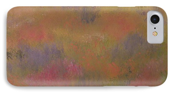 Field Of Flowers Abstract IPhone Case