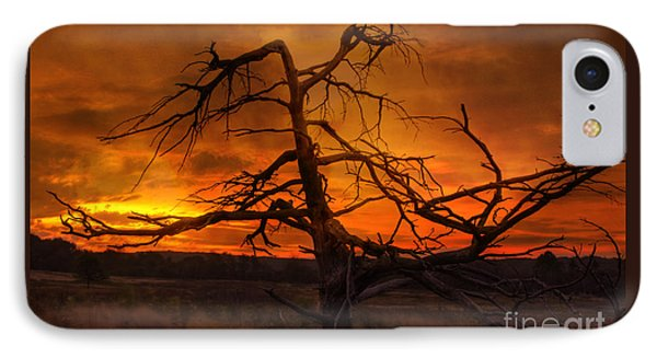 Fiery Sunrise IPhone Case