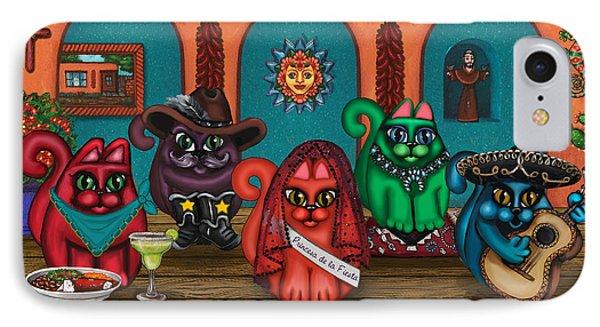 Fiesta Cats II IPhone Case
