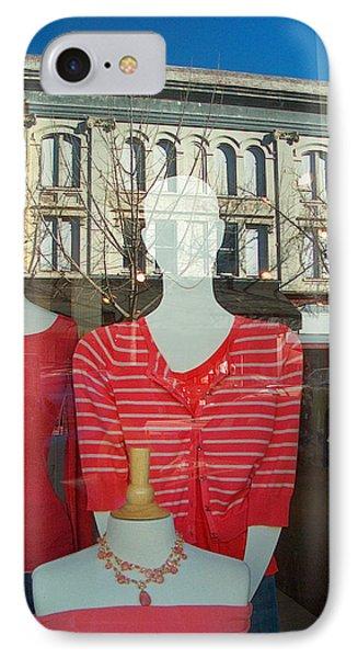 Figure In Window By Jan Marvin IPhone Case