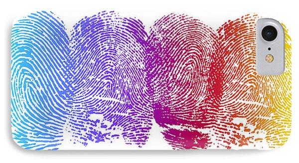 Finger Prints IPhone Case
